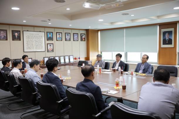 유한대학교 김현중 총장, 구성원 참여와 소통을 위한 간담회 가져..