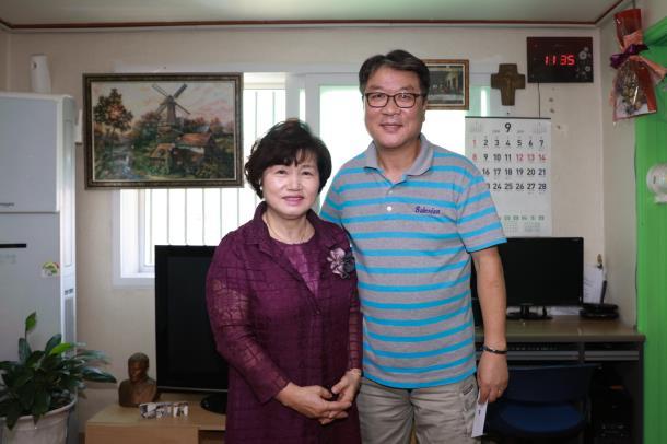 김동희 의장, 추석맞이 사회복지시설 방문