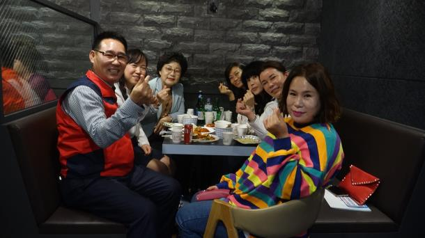 북부천 로타리, 일일 호프 개최