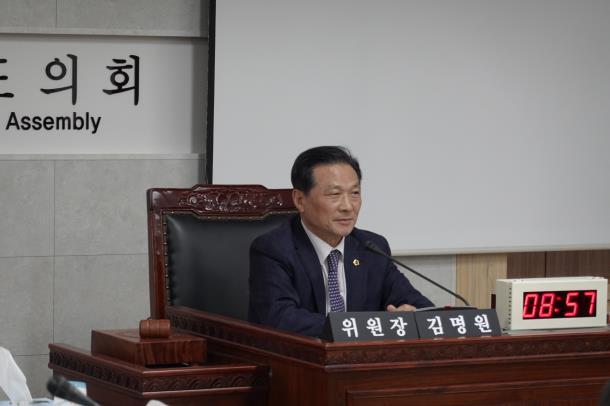 김명원 도의원, 2019 행정사무감사, 철도항만물류국